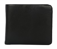 Almeda Leather Wallet(Black)VW3