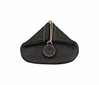 Leather Coin Purse(Black)W100