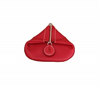 Leather Coin Purse(Red)W100