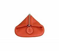 Leather Coin Purse(Tan)W100