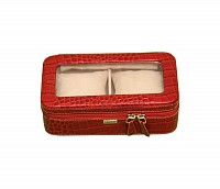 Leather Watch Case(Red)W210