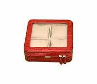 Leather Watch Case(Red)W211