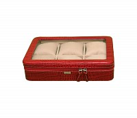 Leather Watch Case(Red)W212