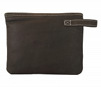 Leather Multi Utility Pouch(Brown.)W227