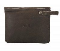 Leather Multi Utility Pouch(Green)W227