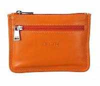 Leather Multi Utility Pouch(Orange)W228