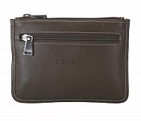 Leather Multi Utility Pouch(Green)W228