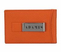 Leather Card Case(Orange)W275