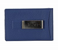 Leather Card Case(Royalblue)W275
