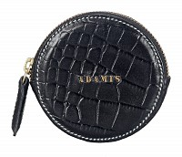 Leather Coin Purse(Black)W321