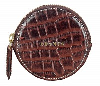 Leather Coin Purse(Brown)W321