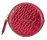 Leather Coin Purse(Red)W321