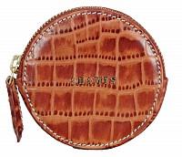 Leather Coin Purse(Tan)W321
