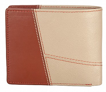 W327-Pedro-Men's bifold wallet with coin pocket in Genuine Leather - TOP/TOWN