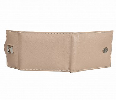 W328-Noah-Men's bifold money clip wallet in Genuine Leather - Tope