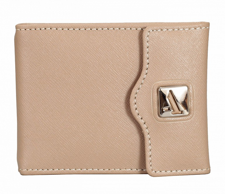 W328-Noah-Men's bifold money clip wallet in Genuine Leather - Tope