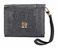 Fiorella Leather Wallet(Black)W330