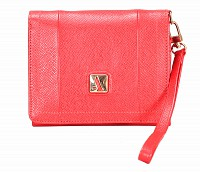 Fiorella Leather Wallet(Red)W330