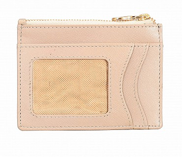 W331-Credit card case with photo Id in genuine leather- - Tope