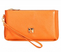 Adriana Leather Wallet(Tan)W332