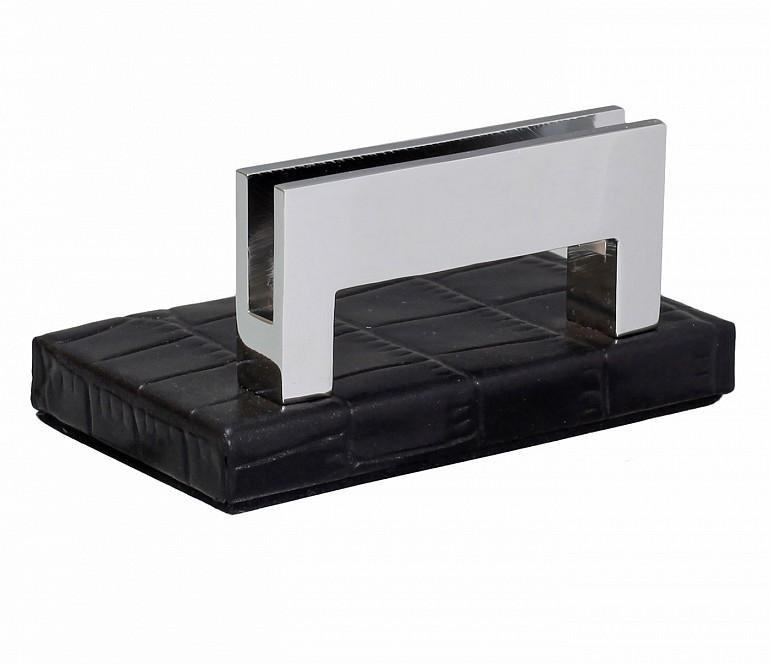 W333-Credit card holder in genuine leather- - Black