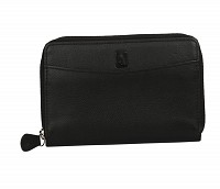Freida Leather Wallet(Black)W35