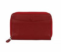 Freida Leather Wallet(Red)W35