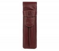 Leather Pen Case(Wine)W51