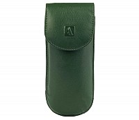 Leather Spectacle Case(Green)W74