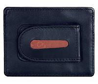 Leather Money Clip(Blue)W75