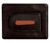 Leather Money Clip(Brown)W75
