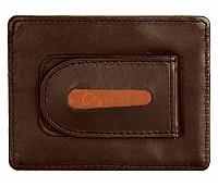 Leather Money Clip(Tan)W75