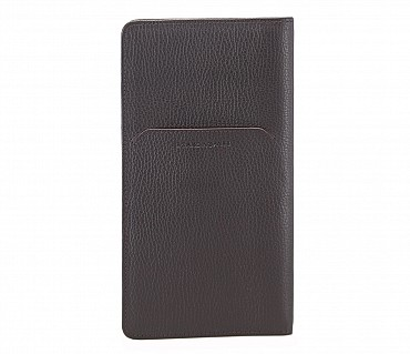 W85-Rafel -Travel document wallet in Genuine Leather - Brown